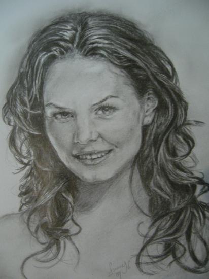 Jennifer Morrison by luca